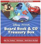 Disney Pixar Board Book & CD Treasury Box [With Audio CD]