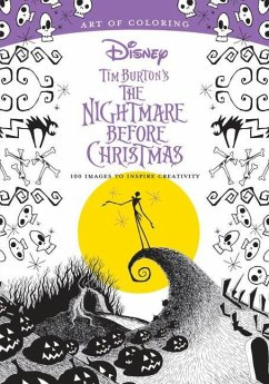Art of Coloring: Tim Burton's The Nightmare Before Christmas - Disney Book Group