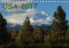 9783665582319 - Zimmermann, Frank: USA 2017 - Der Nordwesten (Tischkalender 2017 DIN A5 quer) - Kniha