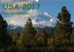 9783665582296 - Zimmermann, Frank: USA 2017 - Der Nordwesten (Wandkalender 2017 DIN A3 quer) - Buch