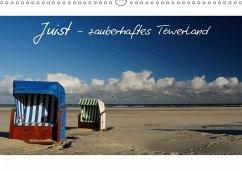 9783665582036 - Sandner, Romana: Juist - zauberhaftes Töwerland (Wandkalender 2017 DIN A3 quer) - Livre