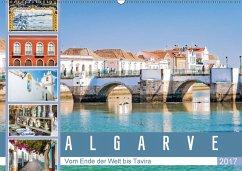 9783665582531 - Meyer, Dieter: Algarve - Vom Ende der Welt bis Tavira (Wandkalender 2017 DIN A2 quer) - Kitap