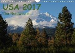 9783665582289 - Zimmermann, Frank: USA 2017 - Der Nordwesten (Wandkalender 2017 DIN A4 quer) - Kniha