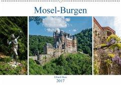 9783665582418 - Hess, Erhard: Mosel-Burgen (Wandkalender 2017 DIN A2 quer) - Kitap