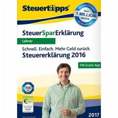 SteuerSparErklärung für Lehrer 2017 (für Steuer...
