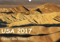 9783665582609 - Zimmermann, Frank: USA 2017 - Farben des Westens (Wandkalender 2017 DIN A3 quer) - Livre
