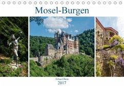 9783665582425 - Hess, Erhard: Mosel-Burgen (Tischkalender 2017 DIN A5 quer) - Kitap