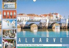 9783665582524 - Meyer, Dieter: Algarve - Vom Ende der Welt bis Tavira (Wandkalender 2017 DIN A3 quer) - Bok