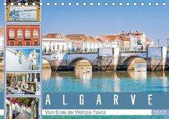 9783665582548 - Meyer, Dieter: Algarve - Vom Ende der Welt bis Tavira (Tischkalender 2017 DIN A5 quer) - Livre