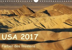9783665582593 - Zimmermann, Frank: USA 2017 - Farben des Westens (Wandkalender 2017 DIN A4 quer) - Livre