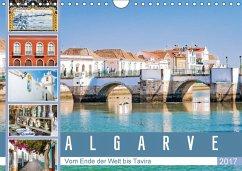9783665582517 - Meyer, Dieter: Algarve - Vom Ende der Welt bis Tavira (Wandkalender 2017 DIN A4 quer) - Bok