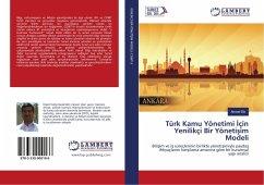 9783330000186 - Efe, Ahmet: Türk Kamu Yönetimi Için Yenilikçi Bir Yönetisim Modeli - Buch