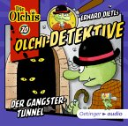 Der Gangster-Tunnel / Olchi-Detektive Bd.20 (1 Audio-CD)