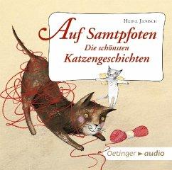 Auf Samtpfoten - Die schönsten Katzengeschichten, 1 Audio-CD - Janisch, Heinz