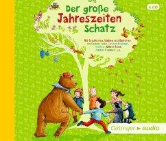 Der große Jahreszeitenschatz, 4 Audio-CDs - Fröhlich, Anja; Heger, Ann-Katrin; Ringelnatz, Joachim