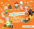 Die 50 schönsten Partylieder, 3 Audio-CDs