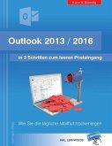 Outlook 2013/2016: In 3 Schritten zum leeren Posteingang (eBook, ePUB)
