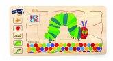 Legler 10431 - Holzpuzzle, Raupe Nimmersatt