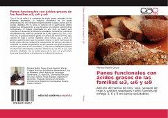 Panes funcionales con ácidos grasos de las familias 3, 6 y 9