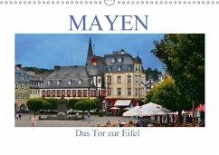 9783665582715 - Bartruff, Thomas: Mayen - Das Tor zur Eifel (Wandkalender 2017 DIN A3 quer) - Kitap