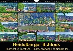 9783665582661 - Liepke, Claus: Heidelberger Schloss Fotoshooting Locations (Wandkalender 2017 DIN A4 quer) - Bok