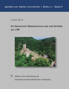 Die Grafschaft Manderscheid und ihre Erträge um 1780 (eBook, ePUB)