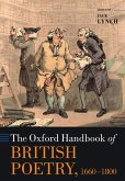 The Oxford Handbook of British Poetry, 1660-1800 (eBook, ePUB)