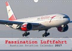 9783665582852 - Jilli, Chris: Faszination Luftfahrt - Austrian Aviation Calendar 2017 (Wandkalender 2017 DIN A4 quer) - Livre