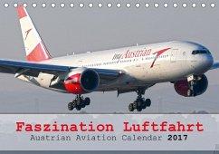 9783665582876 - Jilli, Chris: Faszination Luftfahrt - Austrian Aviation Calendar 2017 (Tischkalender 2017 DIN A5 quer) - Kniha