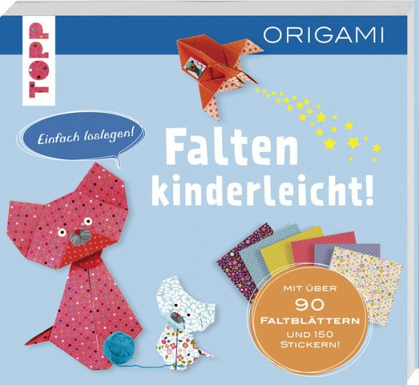 falten kinderleicht origami f r kinder von didier boursin buch b. Black Bedroom Furniture Sets. Home Design Ideas