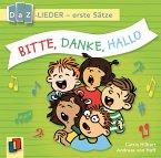 Bitte, danke, hallo! DaZ-Lieder - erste Sätze, 1 Audio-CD