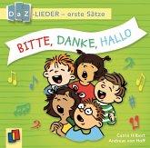 Bitte, danke, hallo! DaZ-Lieder - erste Sätze, Audio-CD