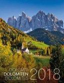 Weltnaturerbe Dolomiten Kalender 2018
