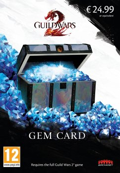 Guild Wars 2 Gem Card (2017)