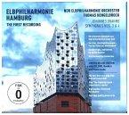 Elbphilharmonie-1. Aufnahme: Sinf. 3&4 (Cd+Dvd)
