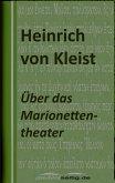 Über das Marionettentheater (eBook, ePUB)