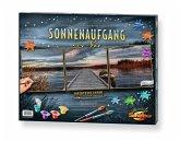 Schipper 609470754 - Malen nach Zahlen, Sonnenaufgang am See, Triptychon 40 x 120