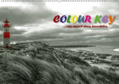 9783665583644 - N, N: Colour Key ...oder einfach etwas hervorgehoben (Wandkalender 2017 DIN A2 quer) - Buch