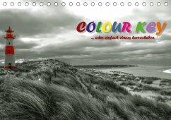 9783665583651 - N, N: Colour Key ...oder einfach etwas hervorgehoben (Tischkalender 2017 DIN A5 quer) - Buch