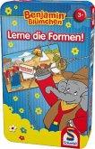 Schmidt 51409 - Benjamin Blümchen - Lerne die Formen! - Reisespiel