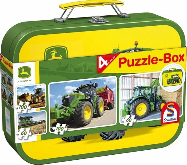 john deere puzzle box kinderpuzzle bei b immer portofrei. Black Bedroom Furniture Sets. Home Design Ideas