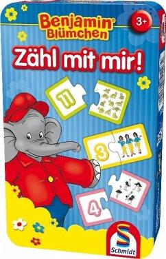 Schmidt 51407 - Benjamin Blümchen - Zähl mit mir! - Reisespiel