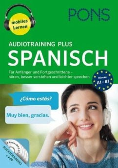 PONS Audiotraining Plus Spanisch, 4 MP3-CD
