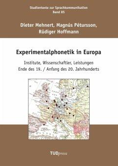 Experimentalphonetik in Europa