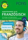 PONS Audiotraining Plus Französisch, 4 MP3-CD