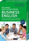 PONS Der große Audio-Intensivtrainer Business English, 8 Audio+MP3-CDs mit Begleitbuch und App