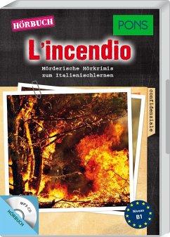 L'incendio, 1 MP3-CD - Garelli, Giovanni
