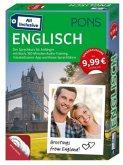 PONS All inclusive Englisch, Kursbuch, 3 Audio+MP3-CDs, Vokabeltrainer-App und Reise-Sprachführer (Restexemplar)
