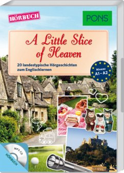 A Little Slice of Heaven, 1 MP3-CD - Butler, Dominic