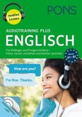 PONS Audiotraining Plus Englisch, 4 Audio-MP3-CDs